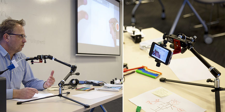 Live pencast in the classroom