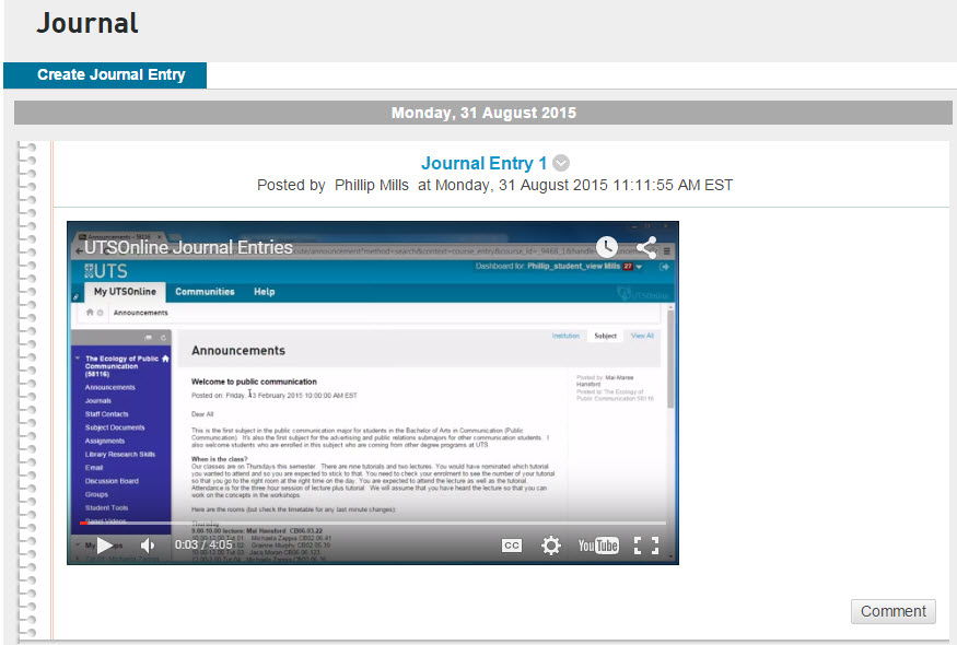 Embedding a youtube video in utsonline utsonline help for Embed a forum into your website