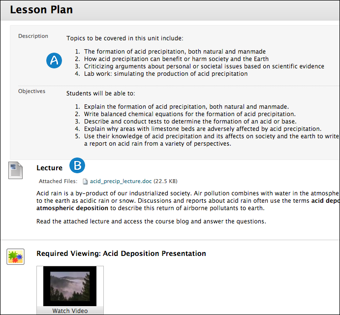 Lesson Plan UTSOnline Help – Lesson Plan Objectives