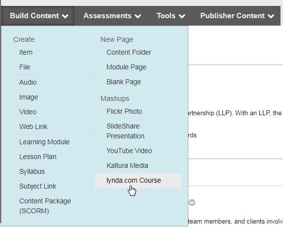 Find-Lynda-course