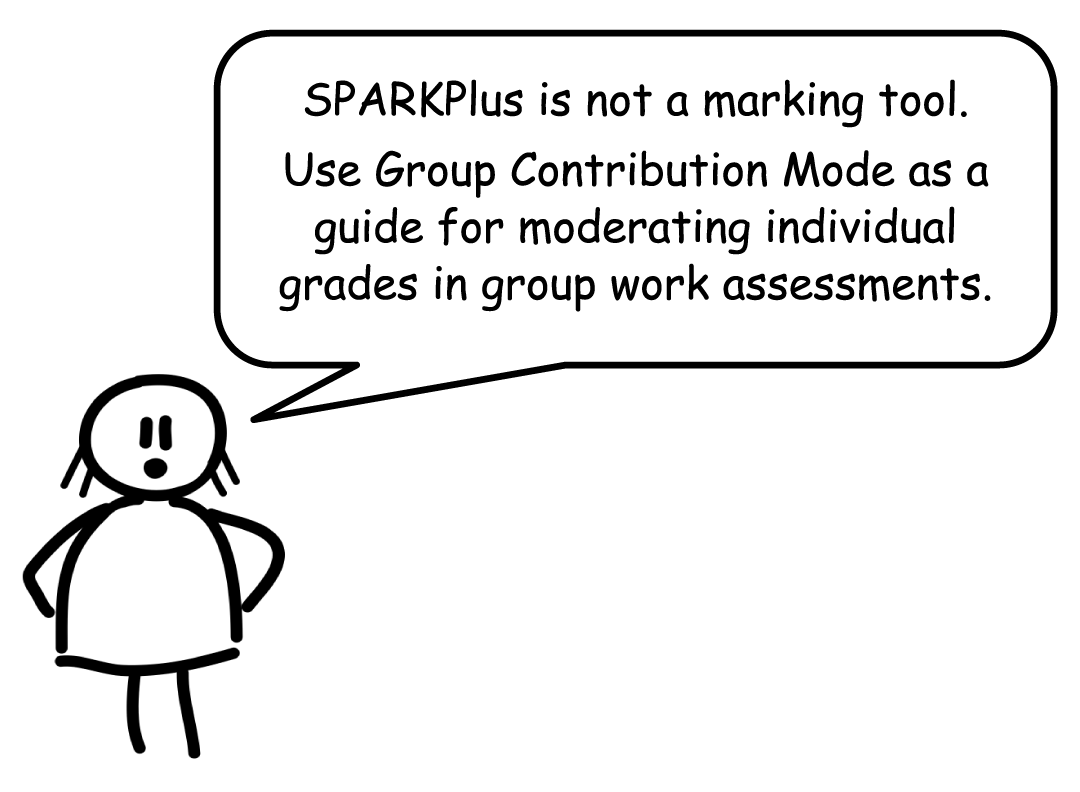 Don't use SPARK for marking